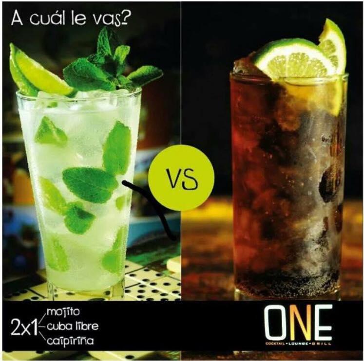 ONE Lounge bar Manta MOJITOS