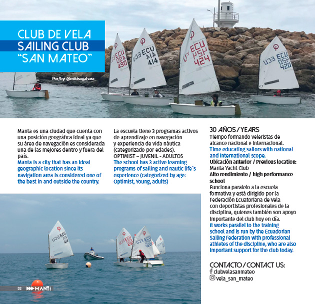 "Club de Vela ""San Mateo"" / Sailing club"