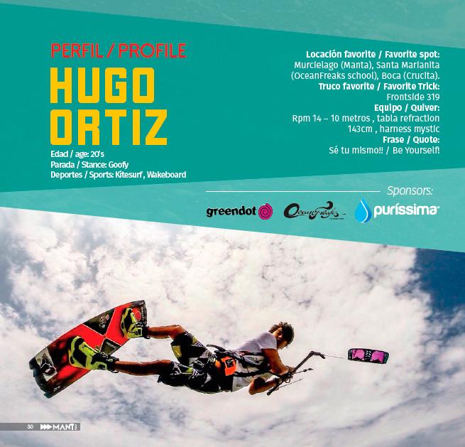 HUGO ORTIZ – Kiteboarding