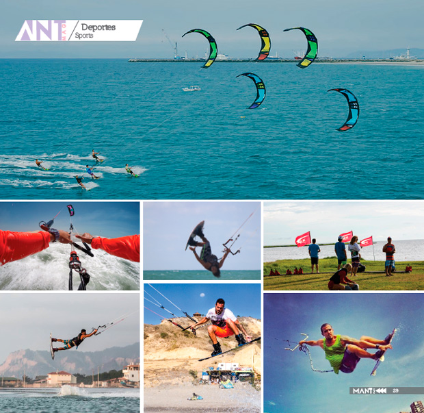 Kitesurfing highlight of the season